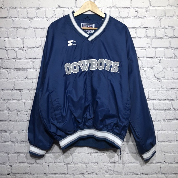 the latest 1708c 267c2 Starter Vintage 90's Dallas Cowboys Pullover